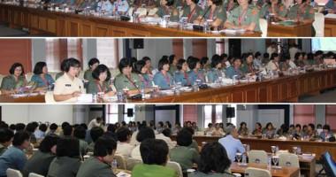 Seminar Sehari HHI dalam Pelaksanaan Tugas Wanita Guna Mendukung Operasi Militer