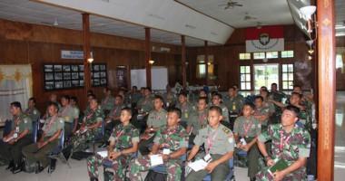 Pembekalan Hukum Humaniter Internasional Bagi Perwira Pertama di Banda Aceh