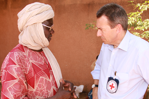 Presiden ICRC Saat Bertemu Dengan Pemerintah, Palang Merah dan Pengungsi di Mali