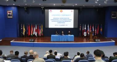 44 Perwira Tinggi Militer & Polisi dari 16 Negara Kumpul di Sentul
