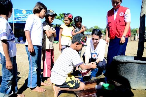 ICRC dan Palang Merah Myanmar Bantu Pengungsi di Rakhine, Myanmar