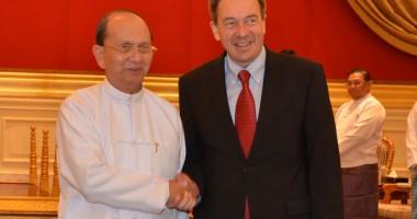 Kunjungan Perdana Presiden ICRC ke Myanmar