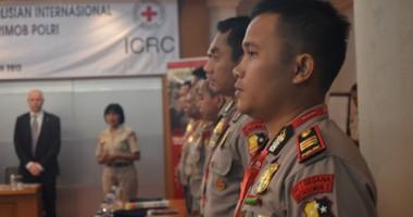 20 Perwira Brimob Sat I Gegana Korbrimob Mengikuti Workshop Bersama ICRC