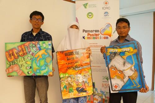 Lomba Dan Pameran Poster Kemanusiaan The Icrc In Indonesia The