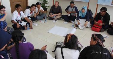 Sarasehan Sosial Media di Temu Karya Nasional V