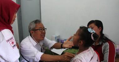 Pelayanan dan Promosi Kesehatan Gratis di Temu Karya Nasional V