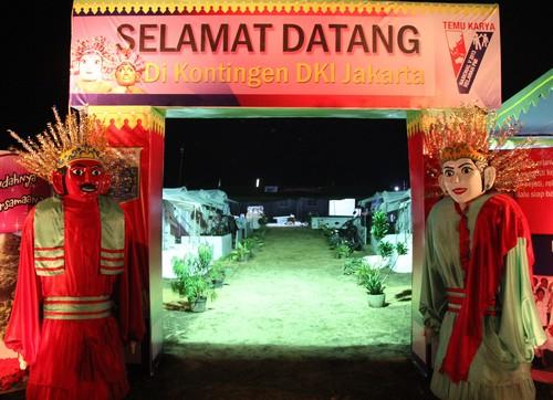 Semarak Ikon Daerah Perkemahan Relawan