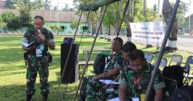 Diseminasi Hukum Humaniter dan Ham bagi Perwira Korem Santiago