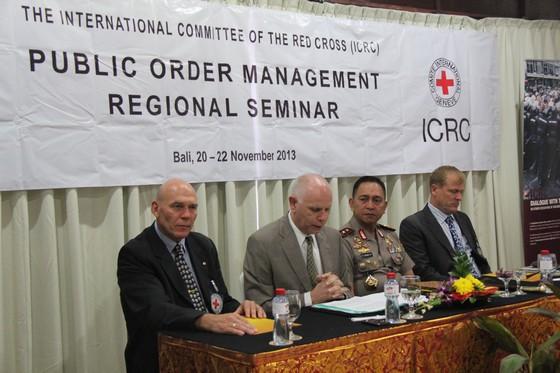 Lokakarya Regional ICRC Mengenai Penangan Ketertiban Umum