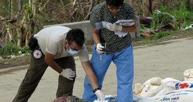 ICRC Membantu Mengidentifikasi Korban yang Tewas Akibat Topan Haiyan di Filipina
