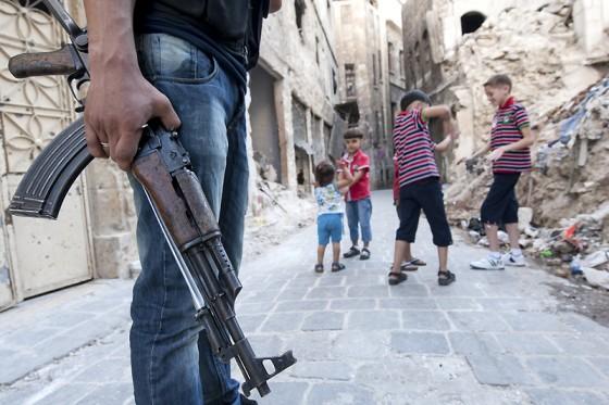 Situasi di Aleppo, Suriah