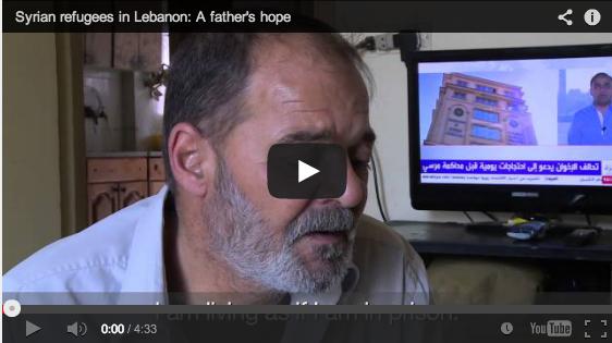 Pengungsi dari Suriah di Lebanon: Harapan Seorang Ayah