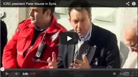 Presiden ICRC Prihatin Tentang Nasib Warga Sipil di Suriah