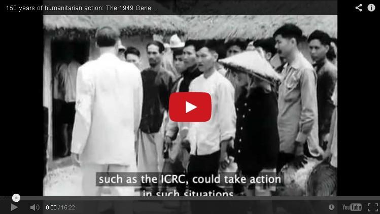 150 tahun aksi kemanusiaan: Konvensi Jenewa, 1949