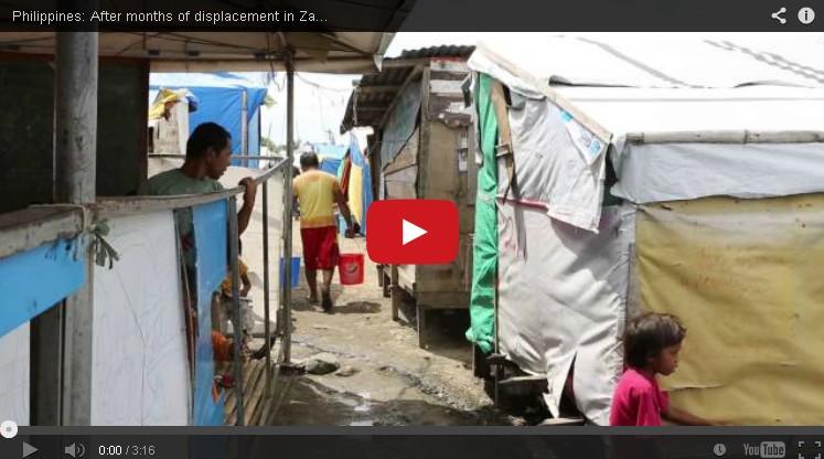 Setelah Lebih dari 9 Bulan Mengungsi di Zamboanga, Para Pengungsi Menantikan Untuk Pulang Ke Rumah