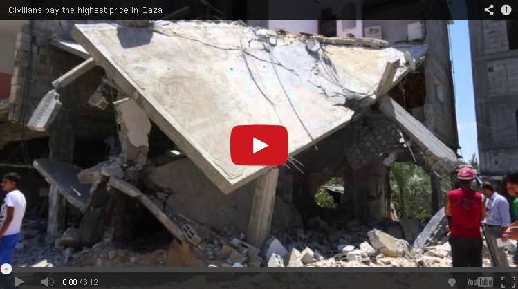 Warga Sipil Menanggung Seluruh Dampak Kekerasan di Gaza