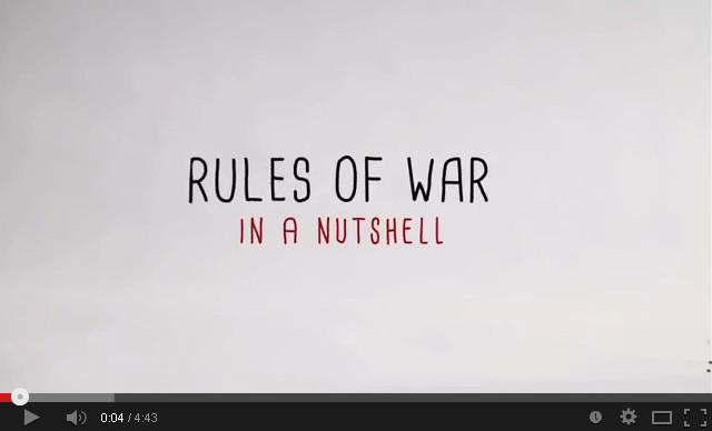 Sekilas tentang Aturan Perang