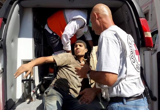 """Wajar kalau penduduk Gaza marah. Palang Merah tidak bisa melindungi mereka."""