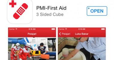 Peluncuran Aplikasi Kesiapsiagaan dan Ketahanan Masyarakat terhadap Situasi Darurat dan Bencana oleh PMI
