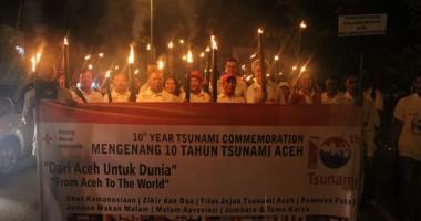 Obor Kemanusiaan Mengenang 10 Tahun Tsunami