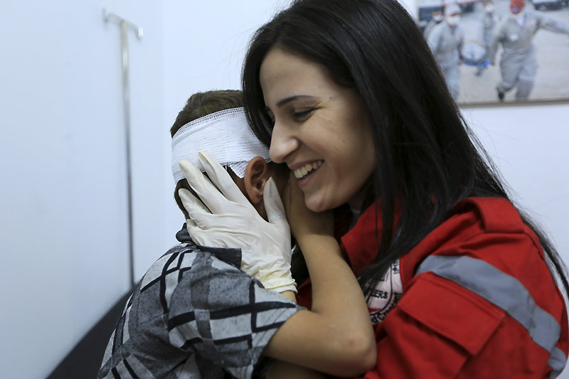 Hari Perempuan Internasional: Panggilan untuk mendukung dan melindungi perempuan untuk mengatasi dampak dari konflik di Suriah