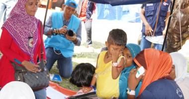 Indonesia: Sambungan telepon menyambung kembali keluarga