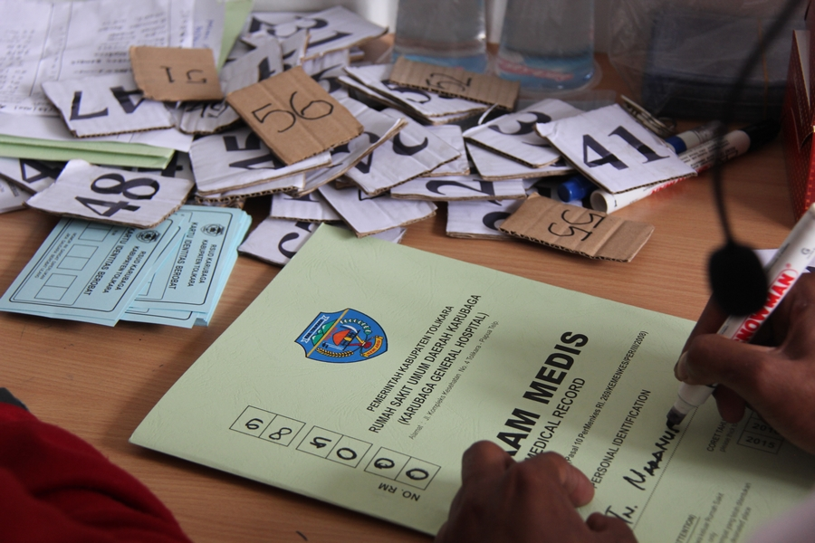 Sebanyak 356 warga yang mendapatkan pemeriksaan mata. ©ICRC/Mia Pitria