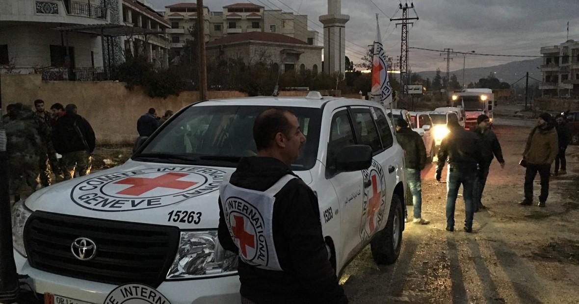 Suriah: operasi kunci mulai membawa bantuan untuk orang-orang di daerah yang terkepung
