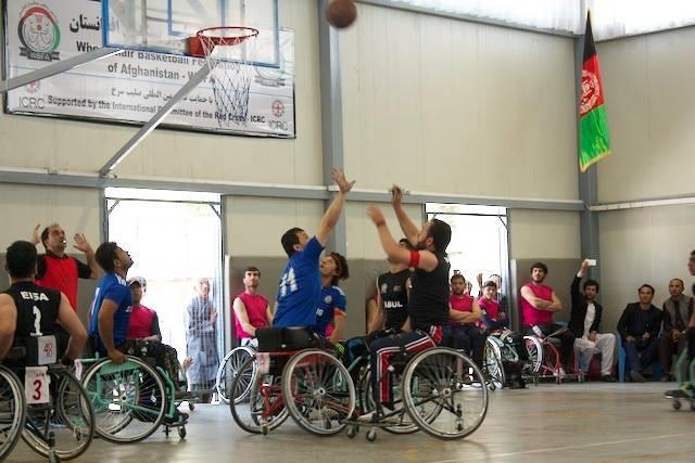 Pertandingan Final Basket bagi Pengguna Kursi Roda Berlangsung di Kabul