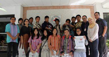 Orientasi Profesi SMA Gonzaga ke ICRC Jakarta