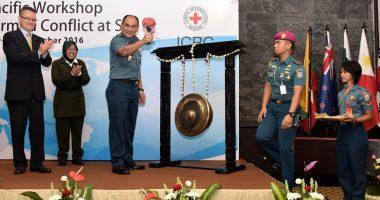 Indonesia: Perwira Angkatan Laut dari Asia-Pasifik bahas hukum perang di laut