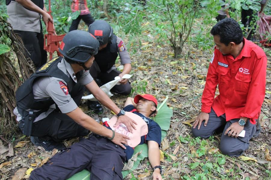 Bertugas dalam Keadaan Genting dan Berbahaya, 20 Polisi Berlatih Pertolongan Pertama