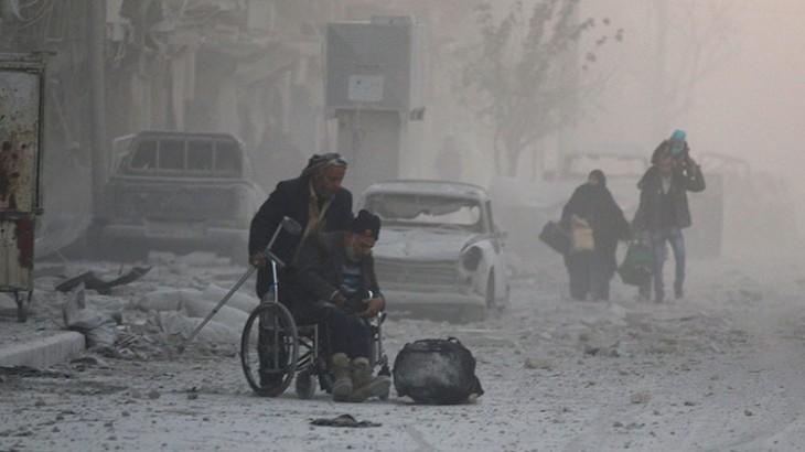 ICRC meminta semua pihak untuk menyelamatkan nyawa manusia di Aleppo Timur