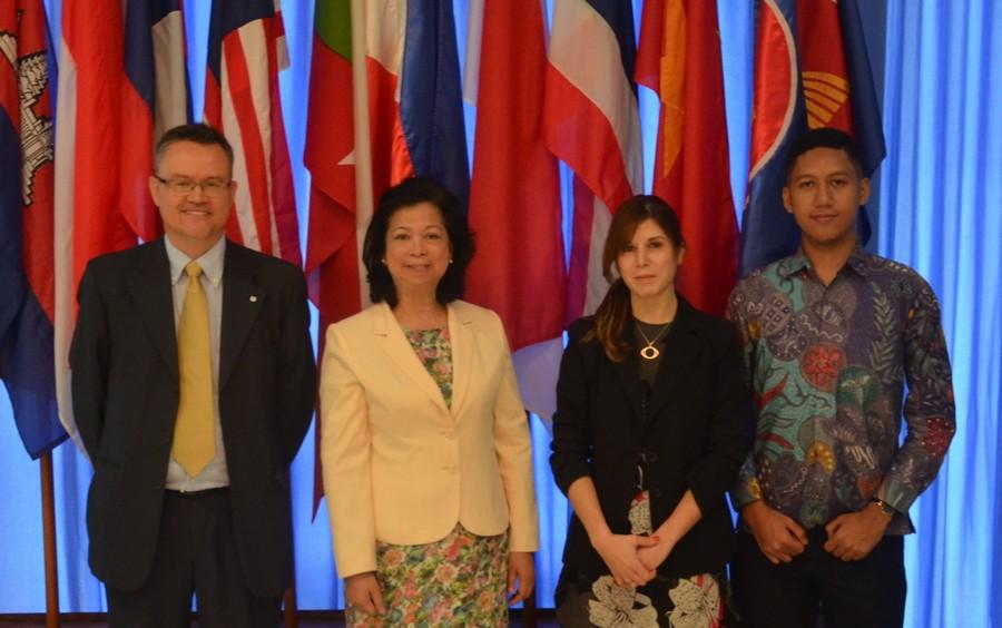 ICRC Diskusi HHI Bersama Perwakilan Tetap Republik Filipina untuk ASEAN