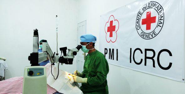 PMI dan ICRC Kembali Gelar Operasi Katarak