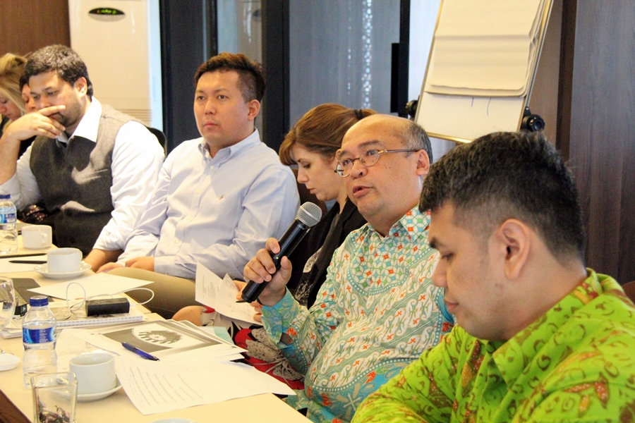 20 Staf ICRC Urusan Multilateral di Asia Pasifik Menghadiri Pertemuan Regional di Indonesia