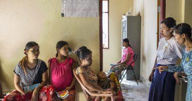 Rakhine : Klinik untuk semua