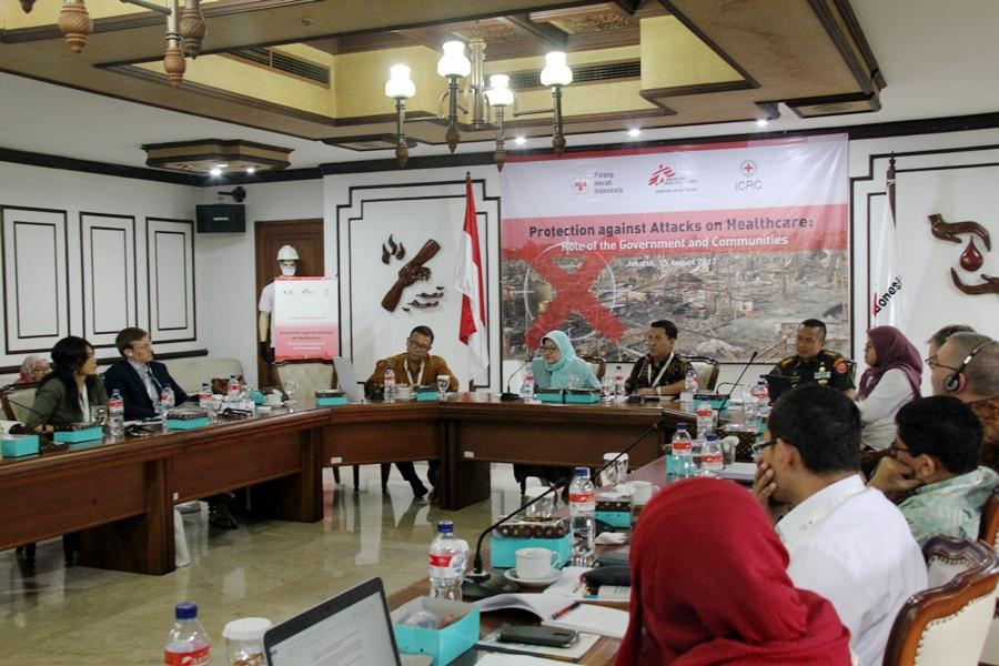 Indonesia bisa memimpin dalam perlindungan layanan kesehatan saat konflik