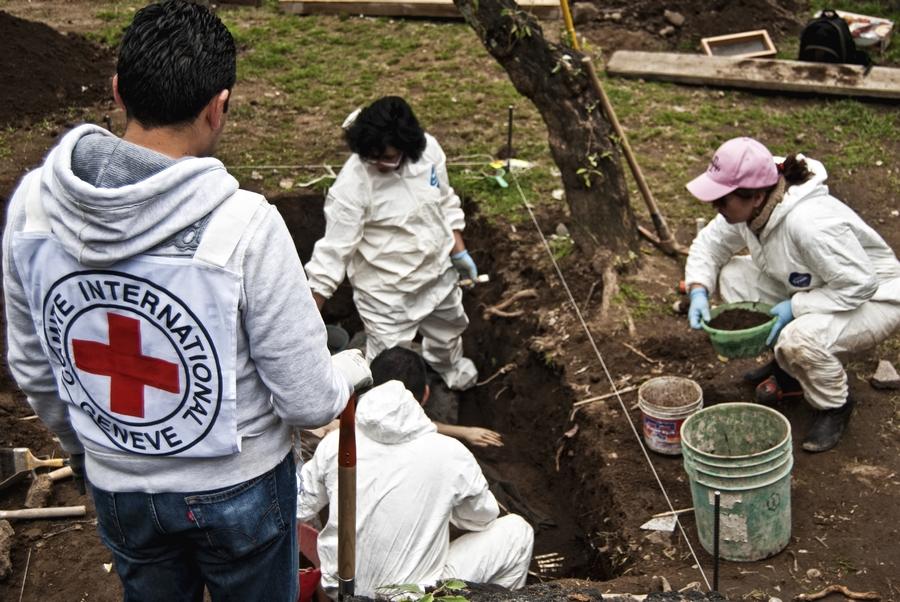 Layanan forensik ICRC, berbicara bagi yang telah tiada