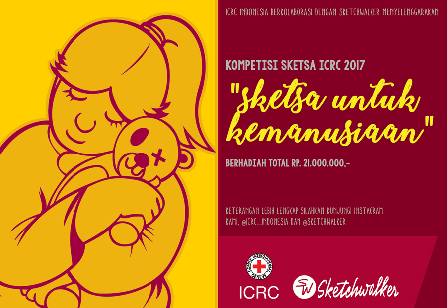 Kompetisi sketching ICRC 2017: Sketch for humanity