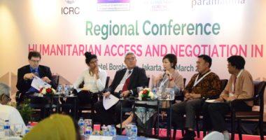 Indonesia: Pekerja kemanusiaan dari Asia-Pasifik mendiskusikan tantangan dan langkah-langkah menuju negosiasi kemanusiaan