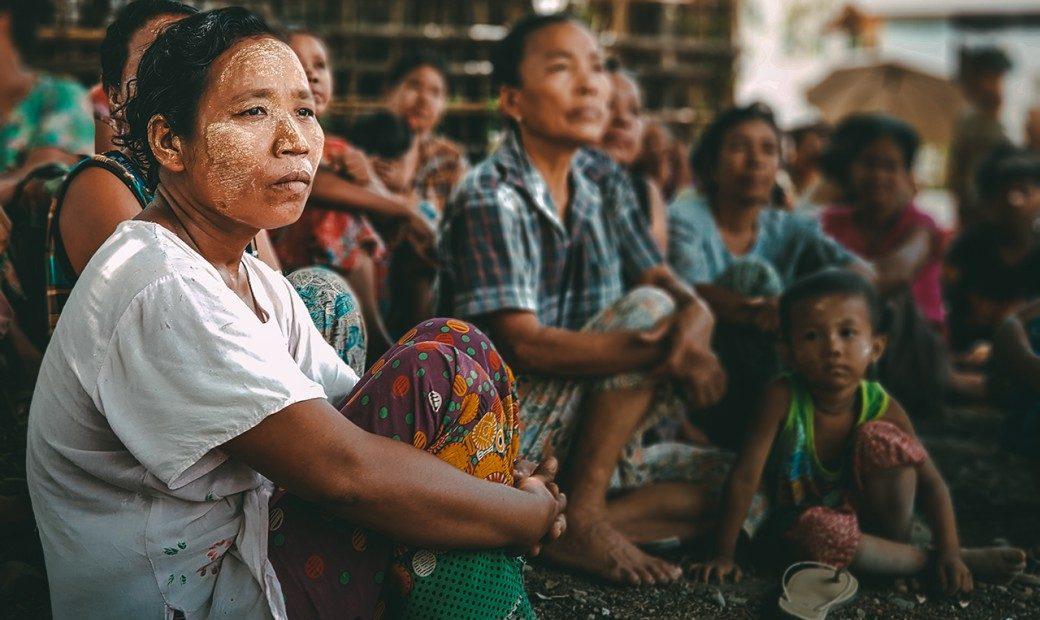 Myanmar: di Rakhine, menempatkan masyarakat sebagai pusat