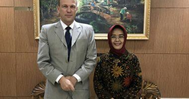 Kunjungan Kepala Delegasi ICRC ke Badan Pembinaan Hukum Nasional