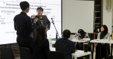 UI sabet gelar juara debat hukum humaniter internasional