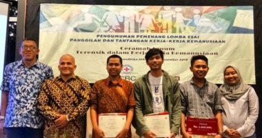 Dosen Airlangga memenangi lomba menulis isu-isu kemanusiaan ICRC-Qureta