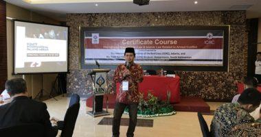 ICRC dan UIN Antasari Banjarmasin gelar kursus bersertifikat tentang Hukum Humaniter Internasional dan Hukum Islam terkait Konflik Bersenjata