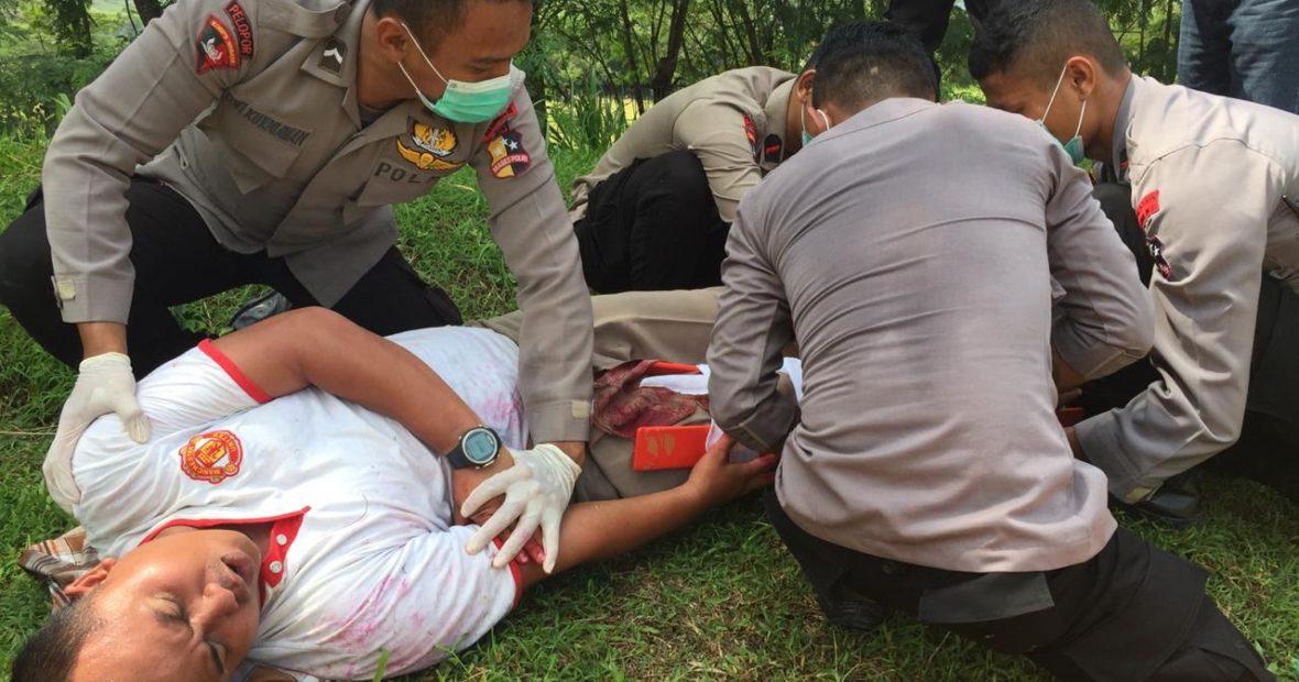 Sering hadapi resiko di lapangan, 40 personel Brimob ikuti pelatihan pertolongan pertama