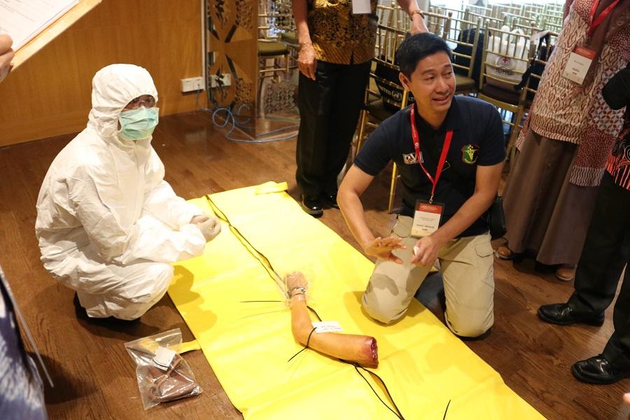 Indonesia: Negara-negara Anggota ASEAN tekankan pentingnya peran penanggap pertama dalam menangani korban masal pada keadaan darurat dan bencana