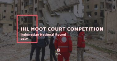 The 2019 Indonesian Round of the IHL Moot Court Competition