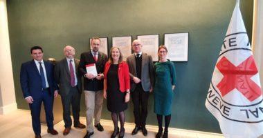 ICRC dan Blue Shield menandatangani MoU terkait perlindungan cagar budaya